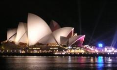 Marcada a Estréia Mundial Sydneyoperahouse