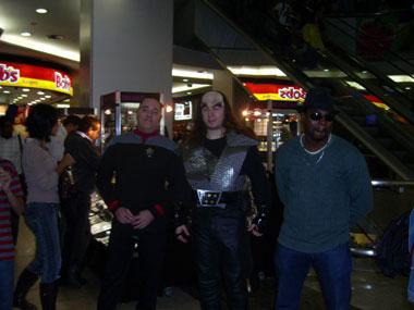 Klingons se dão bem com o pessoal de A Nova Geração