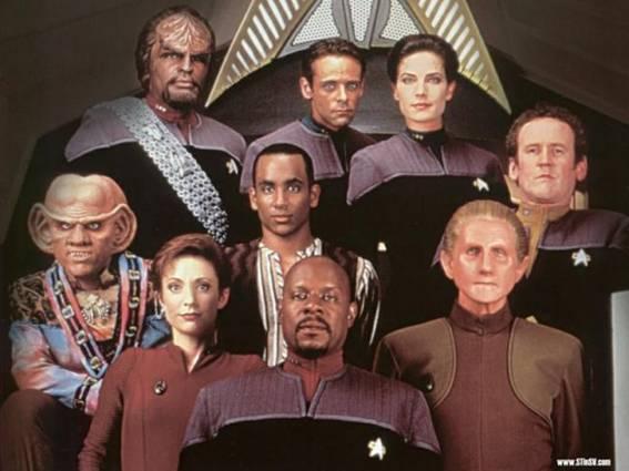 Resultado de imagem para Jornada nas Estrelas: Deep Space Nine