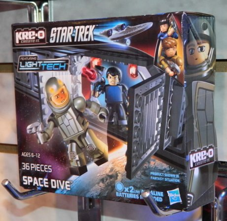 Hasbro Kre-O Star Trek Space Dive box