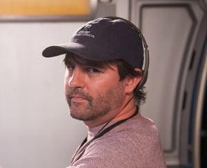 ROBERT ORCI on the set of ENDER'S GAME