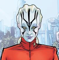 Star Trek - Boldly Go 005-021 Academia