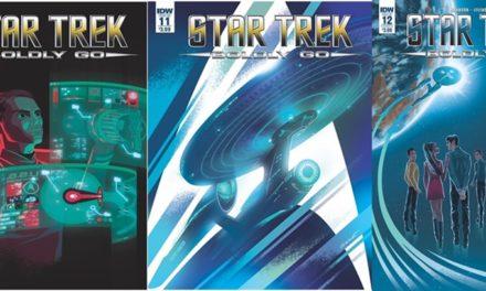Review dos quadrinhos Star Trek Boldly Go 10 a 12