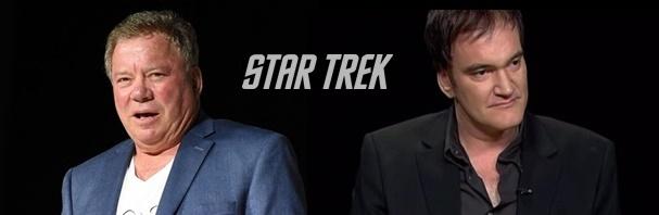 Shatner interessado no projeto Star Trek de Tarantino