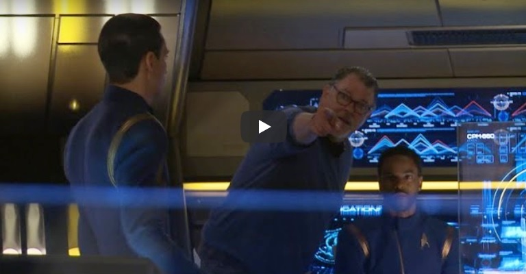 Jonathan Frakes comenta direção do episódio Despite Yourself