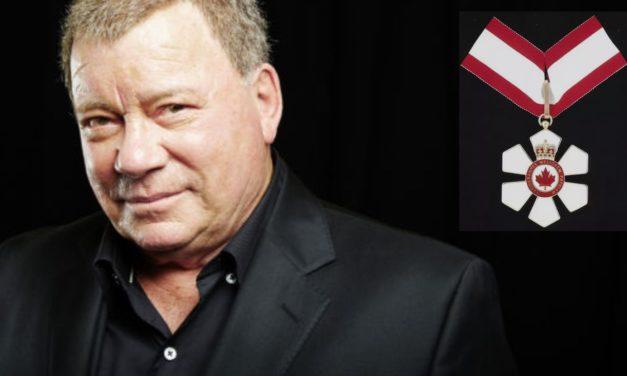 Shatner indicado para receber a Ordem do Canadá
