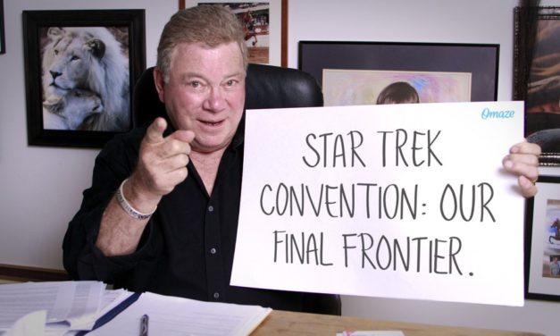 Shatner anuncia concurso para viagem a Star Trek Vegas Con