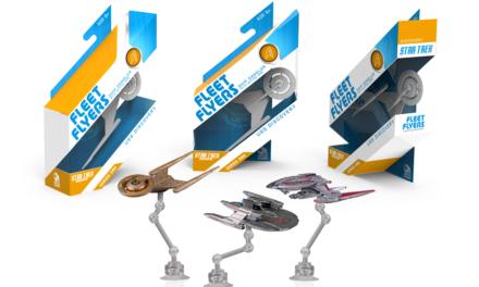Miniaturas de naves de Discovery na Toy Fair 2018