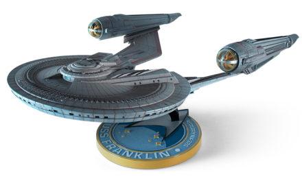 Confira imagens da USS Frankin, lançada pela Moebius Models
