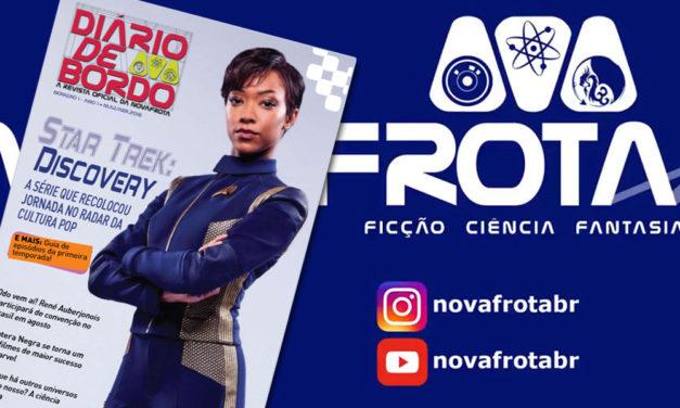 Revista Diário de Bordo #1 da NovaFrota é enviada aos sócios