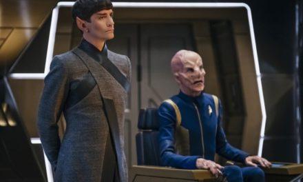 Para Doug Jones Saru não deveria ser capitão (ainda) da Discovery