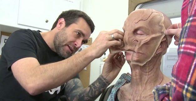 Bastidores de maquiagem, novos e velhos aliens para 2ª temporada