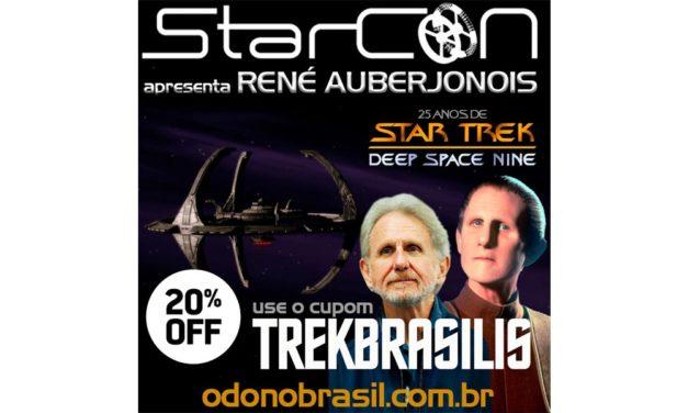 Trek Brasilis dá desconto para ingresso da convenção com Odo no Brasil