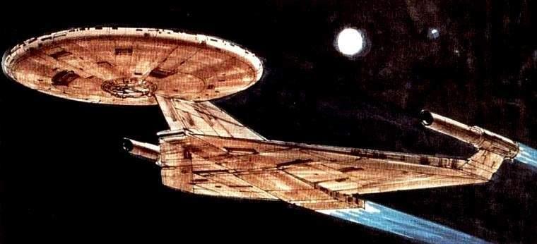 Fracassa leilão de modelo de Enterprise por Ralph McQuarrie