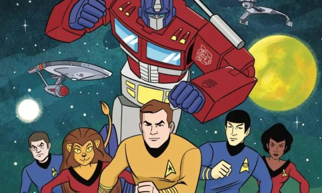 IDW anuncia crossover Star Trek vs Transformers em quadrinhos