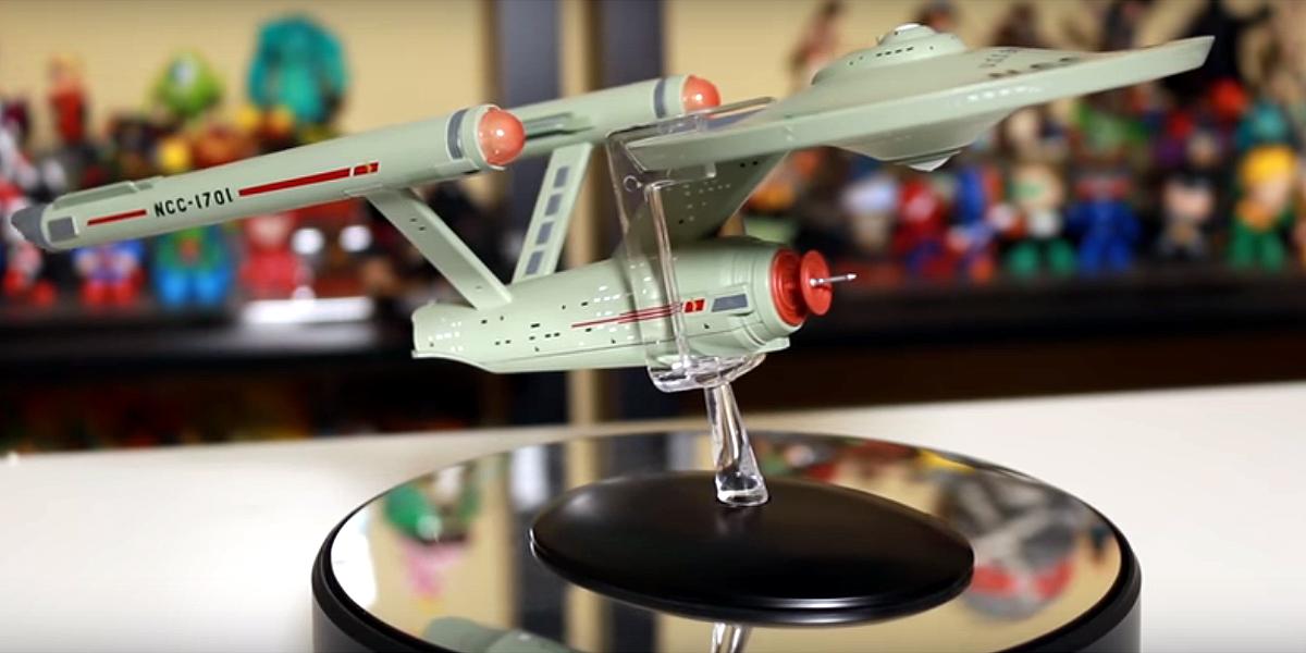 Enterprise clássica grande e USS Titan são novidades da Eaglemoss