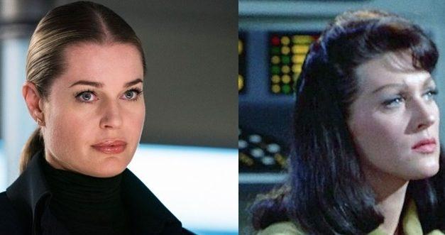 Rebecca Romijn fala sobre a Número Um e Spock em Discovery