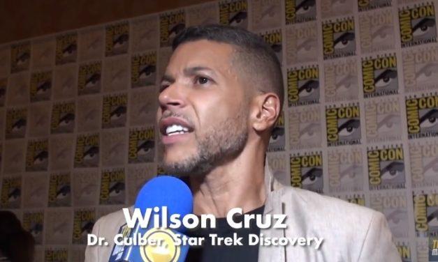 Wilson Cruz fala sobre a volta misteriosa de Culber