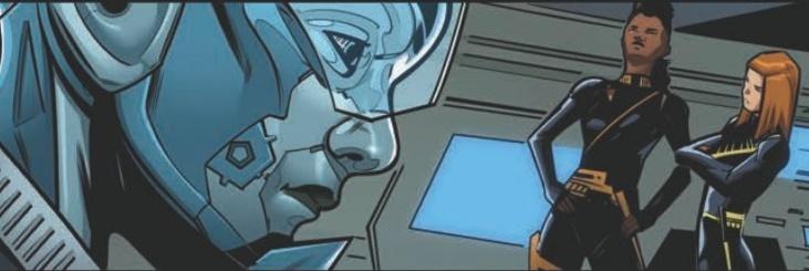 Airiam sem máscara em Star Trek Discovery Sucession 4