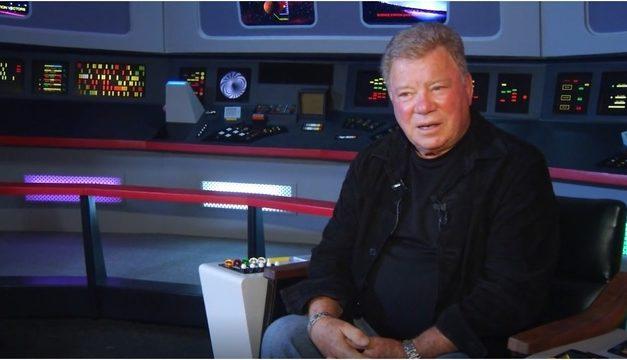 Shatner descarta reprisar Kirk para nova série de TV