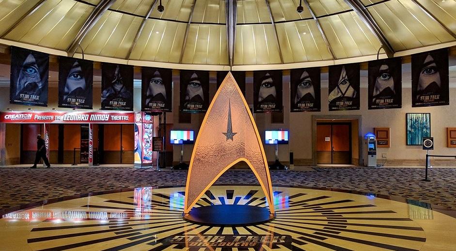 Star Trek Discovery na convenção Star Trek Las Vegas – Livros