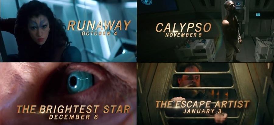 Short Treks: datas, teaser, sinopses