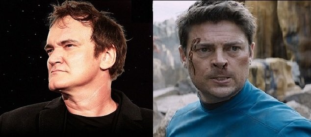 Karl Urban comenta Star Trek de Tarantino