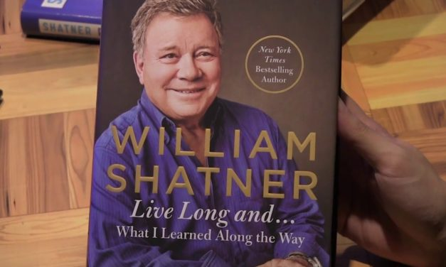 William Shatner fala de seu novo livro, Kirk, Pine e Star Trek