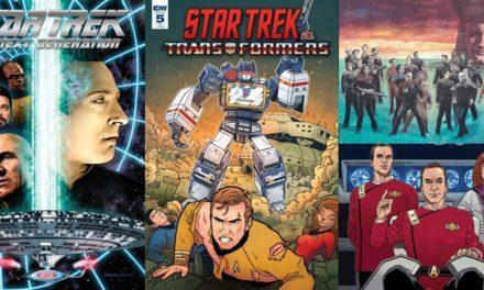 IDW anuncia crossover, Picard e Q em quadrinhos para 2019