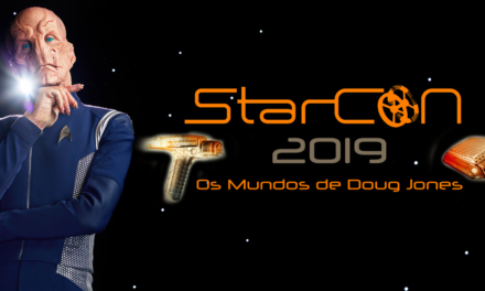 Doug Jones, o Saru, vem ao Brasil para a StarCon 2019